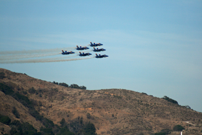 Fleet Week Air Show Blue Angels Arrive
