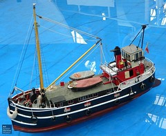 Puffer VIC-32 model by Brian Goodwin (Scottish Maritime Museum - SMM) Tags: building history museum scotland clyde boat sailing ship paddle scottish commons vessel steam maritime sail steamer cruiser turbine irvine smm ayrshire scottishmaritimemuseum linthouse ayrshirecoast 8qe ka12 scotmaritime