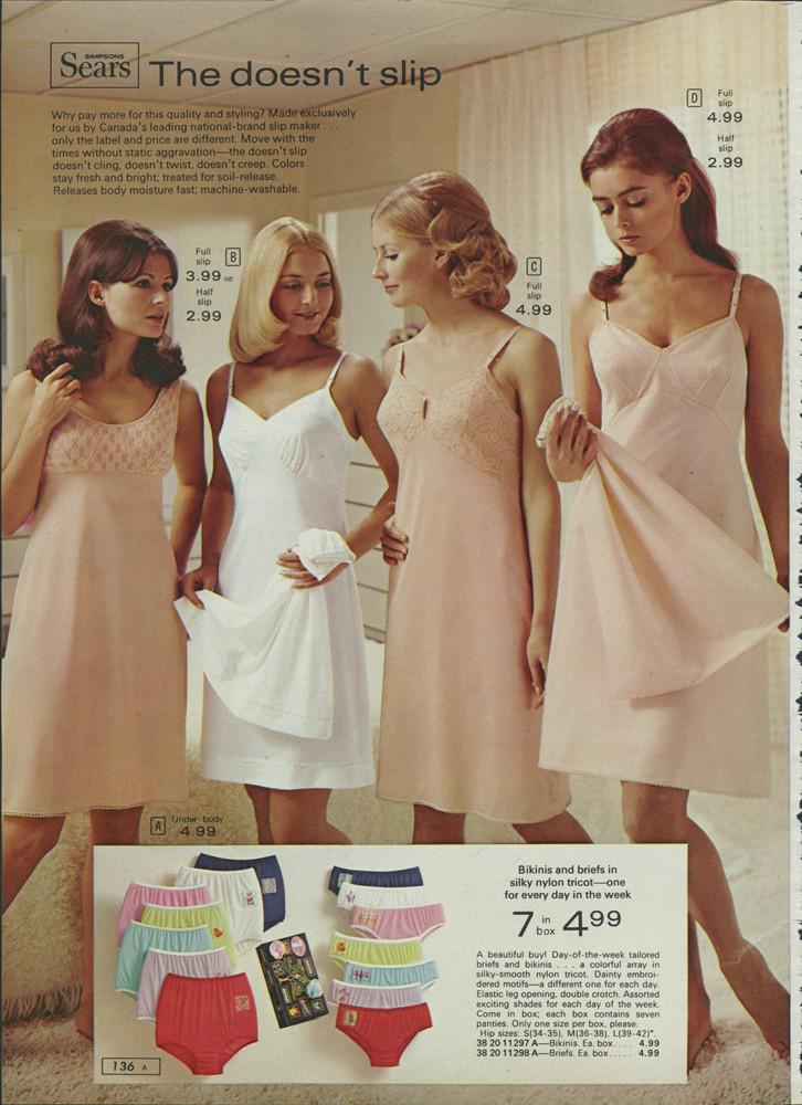 Sears underwear models retrospace catalogs 12 women s sears fashion