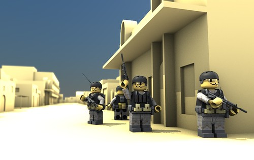Delta Patrol in Bashra, Iraq