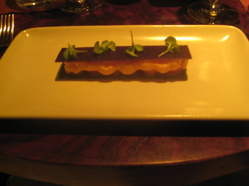 Coi, San Francisco - Inverted Cherry Tomato Tart, Black Olive, Basil