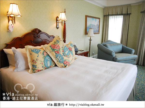 【香港住宿】跟著via玩香港(4)~迪士尼樂園酒店(外觀、房間篇)45