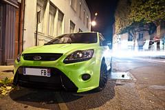 Focus RS (Geoffray Chantelot | Photographe) Tags: ford car night nikon focus automobile shot nightshot lyon automotive voiture rs nuit photographe roanne focusrs d700 worldcars nikond700