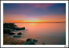 east bound (dK.i photography (losing views, thanks panda!)) Tags: longexposure morning beach sunrise canon dawn bay rocks tokina 7d chesapeake sandypointstatepark mygearandmepremium mygearandmebronze mygearandmesilver mygearandmegold mygearandmeplatinum mygearandmediamond