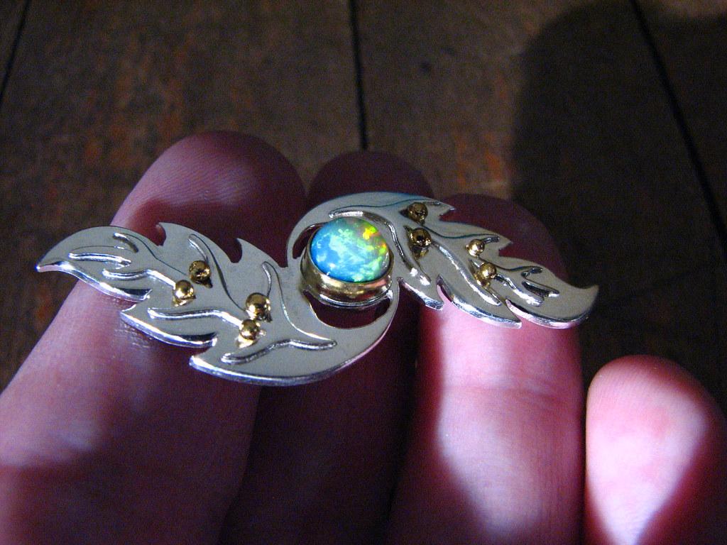 Opal Brooch 2