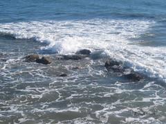 Rocks and surf (Hollywood Russ) Tags: water rocks waves pacificocean foam tidalpool