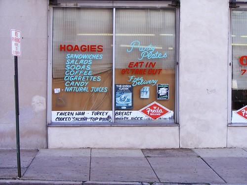 Hoagie Sign