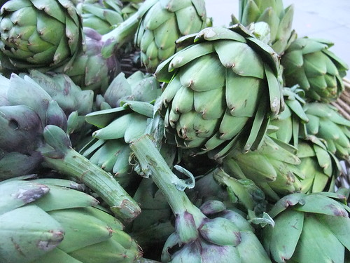 SFO Day 2: Artichokes at the Ferry Plaza Farmers Market
