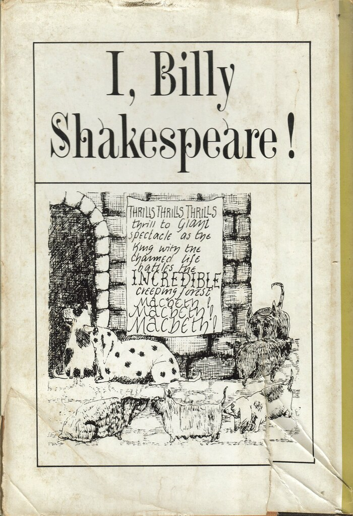 I, Billy Shakespeare by William Peter Blatty back cover