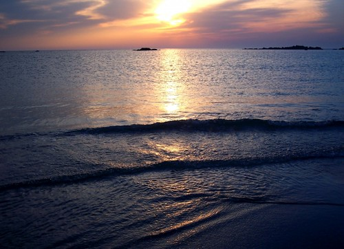 mer plus calme