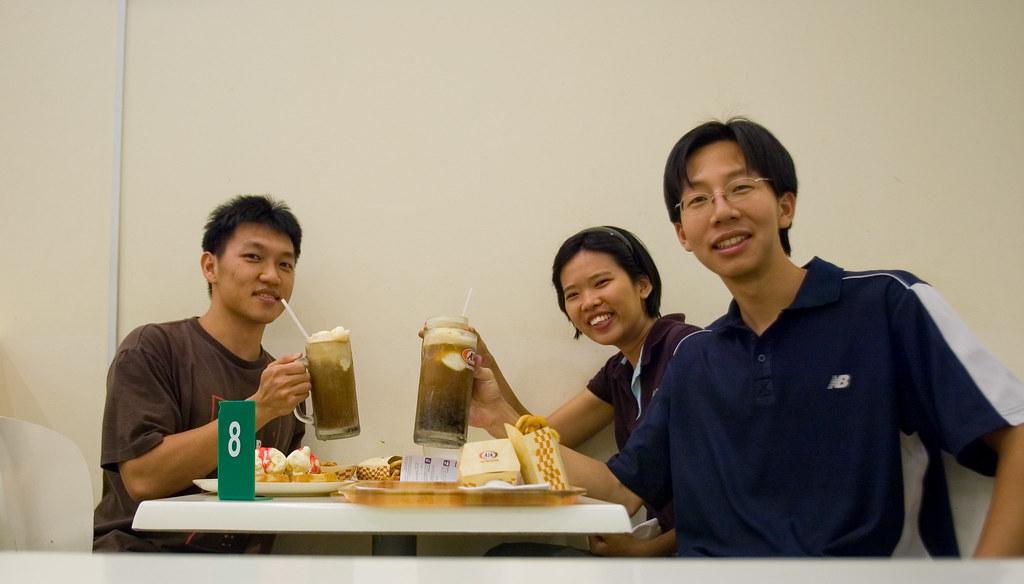 Cheers! Aku, Molly and Jy