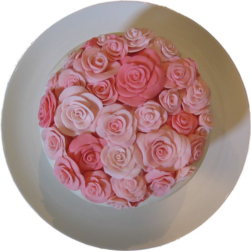 Rose Cake - Top