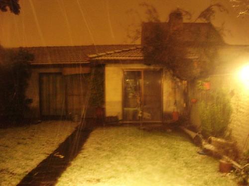 nieva en carapachay