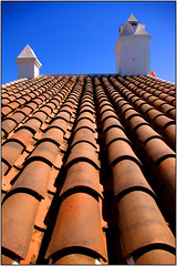 roof tiles Nerja (Waka Jawaka) Tags: blue roof spain terracotta july tiles almeria nerja 2007