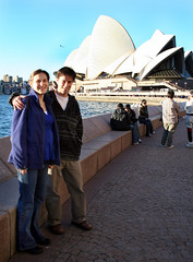 Meghan and Fernando by the Opera House