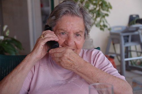 YiaYia on the 'Phone