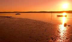 Lagoa Obidos sunset (orgie) Tags: sunset portugal obidos