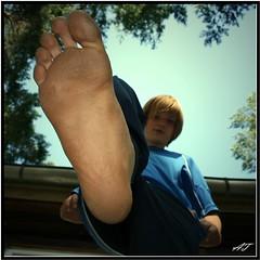 Boys Big Feet