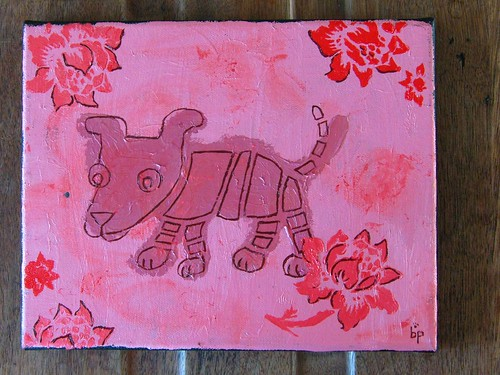 pink dog, deconstructed
