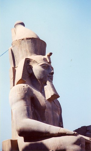 Statue of Pharoah Ramesses II.