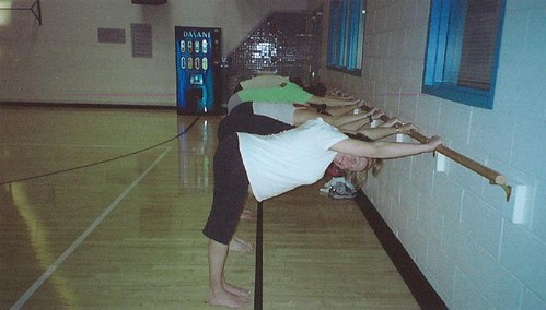 Me in Yoga Class