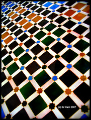 Shooting Stars (Sir Cam) Tags: pool star spain patterns andalucia espana tiles alhambra moorish granada moors muslims soe islamic 1492 alandalus patiodelosarrayanes aplusphoto diamondclassphotographer theperfectphotographer courtofthemyrtle