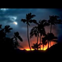 sunset in hawaii (Ąиđч) Tags: ocean sea usa color andy beautiful landscape island hawaii andrea andrew uniti isole benedetti stati ąиđч