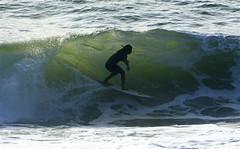 Ridin' the Wave (Jol Kiel Photography) Tags: france water weather golf surf surfer sony tube sigma wave hossegor pro 100 alpha weer krankrijk 135400 alpha100