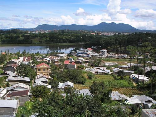 Vista panorámica de la ciudad de Dalat