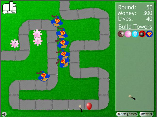 Free Online Games Bloons Tower Defense 3   Apps Directories