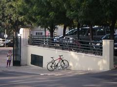 Estacionamento de bicicletas no IST