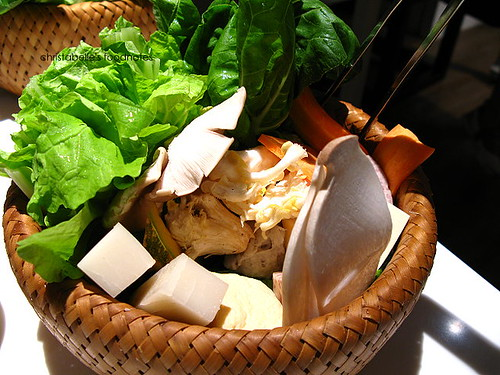 齊民有機中國火鍋 有機蔬菜盤