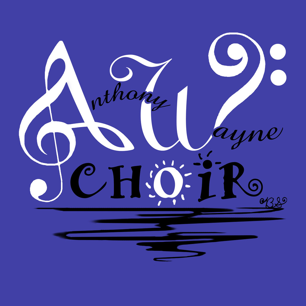 Anthony Wayne Choir T-Shirt Design