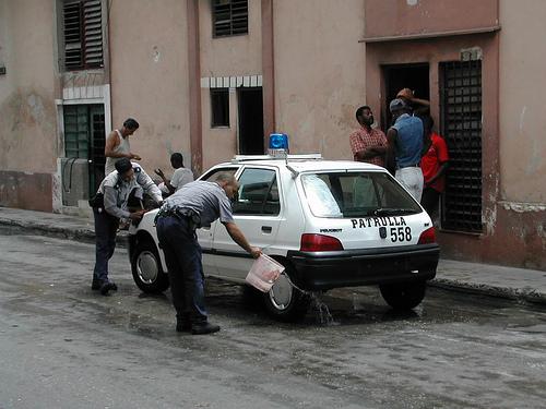 policias cubanos