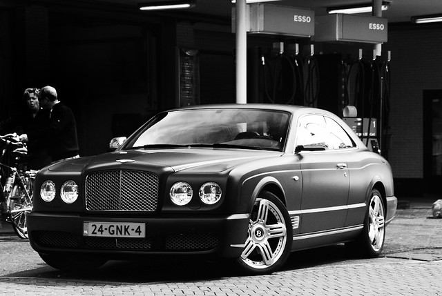 black matt 2008 bentley brooklands worldcars
