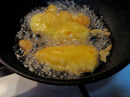 Ethakka Appam Frying
