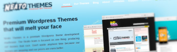 Premium WordPress Themes, Free WP Themes | Neato Themes
