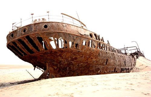 Wreck of Eduard Bohlen