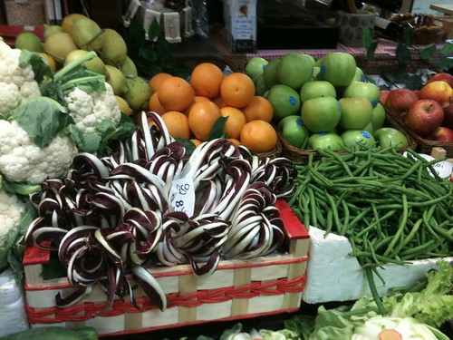Produce at Mercato Centrale, Florence