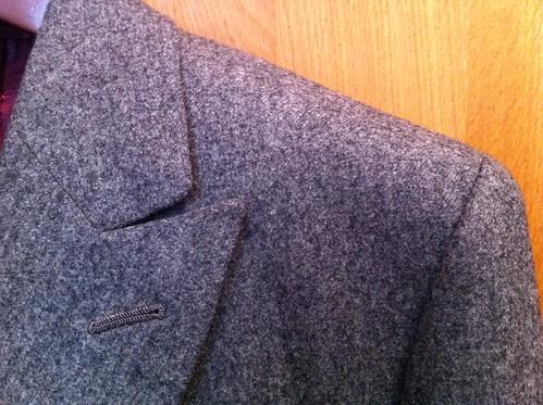 Caruso grey flannel DB 02