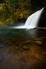 Upper Butte Creek Falls (Benjamin Postlewait) Tags: oregon scottsmills upperbuttecreekfalls