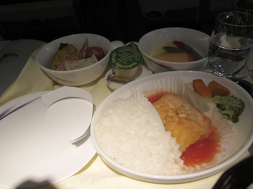 china airline dinner