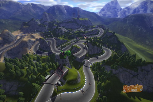 ModNation Racers: Mountain Switchbacks