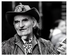 Cowboy Busker, Dublin (C) 2007