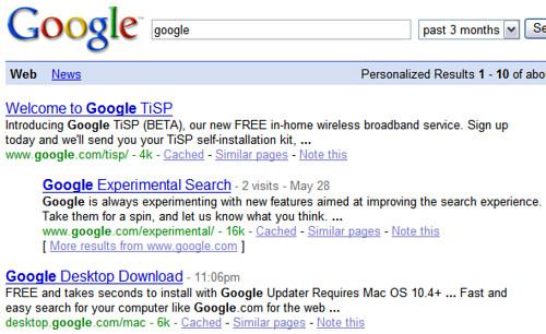 google 3 meses
