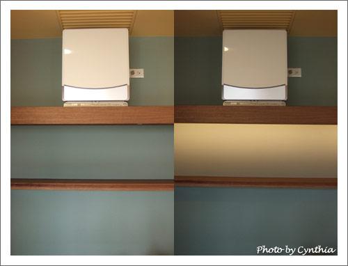 光線造成顏色變化