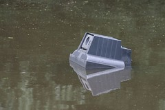 TV in the water