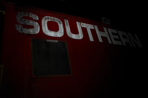 Southern Train Caboose