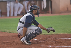 David Ramirez (mark6mauno) Tags: sun david beach golden nikon long desert baseball stadium armada longbeach d200 catcher nikkor league yuma ramirez 2007 gbl 70200mmf28gvr goldenbaseballleague davidramirez nikond200 desertsunstadium