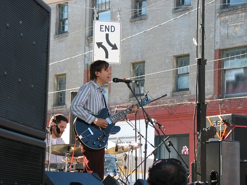 John Vanderslice at the Block Party